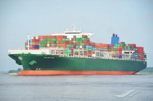 Ship arrives in Netherlands